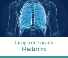 Cirugía de torax y mediastino